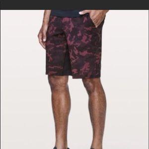 LULULEMON Pace Breaker Camo Shorts